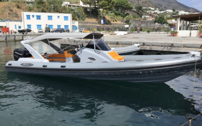 Trasferimento veloce in barca Isole Eolie da Tropea