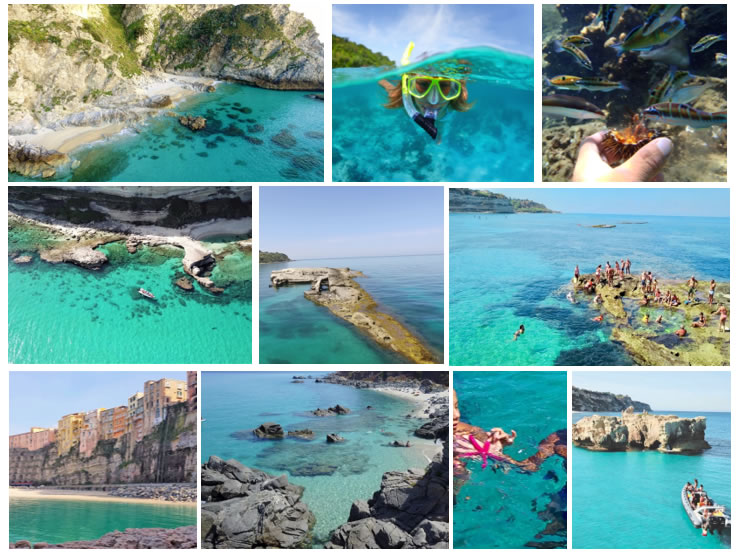All Coast of the Gods, from Capo Vaticano to old fisch farm Murenario Sant'Irene - Tip 3