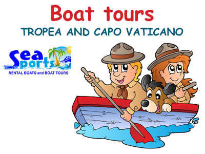 Boat tours Tropea and Capo Vaticano
