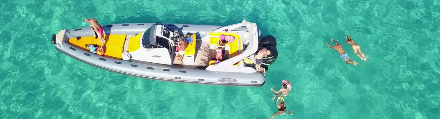 Escursioni in barca a Tropea e Capo Vaticano e Costa degli Dei