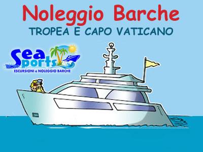 Noleggio barche a Tropea – Capo Vaticano