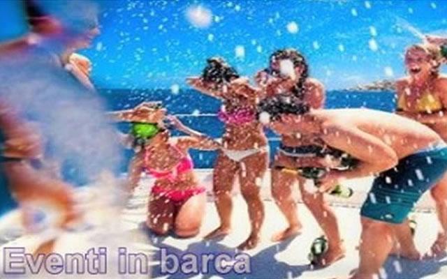 Sea Sports feste in barca