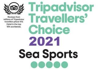 Travellers' Choice alla Sea Sports Tropea
